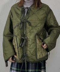 【RE;CIRCLE】 Remake Liner Jacket With Ribbon① /210113-019