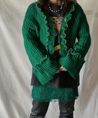 【RE;CIRCLE】 Mellow Knit Cardigan②/210217-022