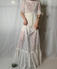 【USED】 EURO Lace Dress/210708-038