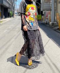 【Used】Lace Long Sleeve Dress