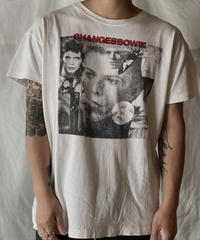 """【USED】 S/S T-shirt David Bowie """"CHANGESBOWIE""""/210526-005"""