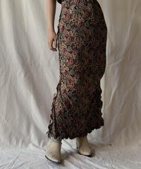 【RE;CIRCLE】 RE Spandex Mellow Long Skirt②/ 210611-039