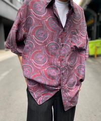 【Used】Silk Pattern Shirt 5