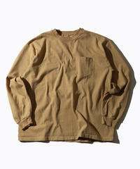 【MAX WEIGHT JERSEY】202 (Beige) (長袖 ポケット付)