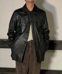 【Used】Leather Jacket /201020-042