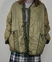【RE;CIRCLE】 Remake Liner Jacket With Ribbon ② /210113-020