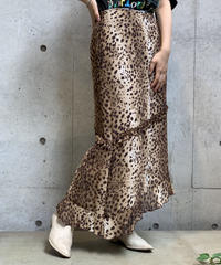 【Used】Animal pattern skirt/ 200922-0013