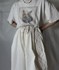【USED】 S/S T-shirt Dog① /210820-001