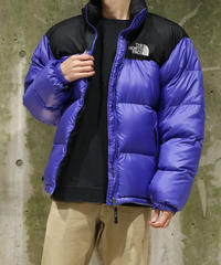 [Used] THE NORTH FACE  Nuptse Jacket (Black/Purple)(NF7)