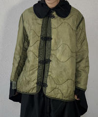 【RE;CIRCLE】 Remake Liner China  button Jacket ① /210113-023