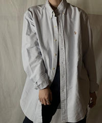 【USED】 Ralph Lauren Stripe Shirt 16/210520-030