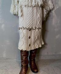 【RE;CIRCLE】 Mellow Patchwork  Long Skirt / 201125-021