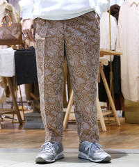 【FAG END】刺繍 Pants  (Brown)