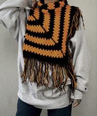 【RE;CIRCLE】 Granny Knit Poncho ② /210125-004