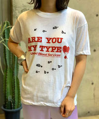 [Used]   United Blood Services T-Shirt  /200721-010