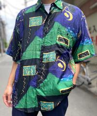 【Used】Silk Pattern Shirt 6