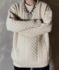 【USED】 Aran Knit ④ / 201125-029