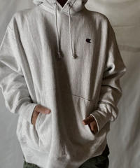 【USED】   Champion Reverse Weave Hoodie One Point /211007-047