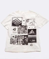[Used] Short Sleeve T-shirt (Escher art 1)
