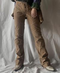 【USED】Suede Pants/210203-005