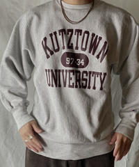 【USED】 90's Mexico Champion Reverse Weave Sweat KUTZ TOWN / 210127-042