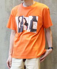 [montage] Aya Kawasaki vivid SS T-shirt (Orange)