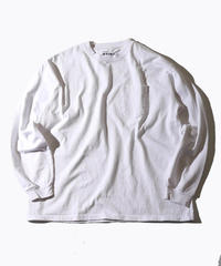 【MAX WEIGHT JERSEY】202 (White) (長袖 ポケット付)