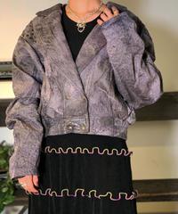 【Used】Leather Jacket / 201011-037