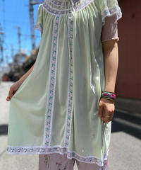 【Used】Poly Short Sleeve Dress