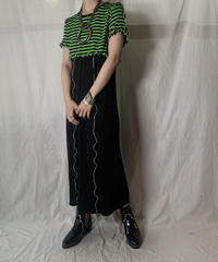 【RE;CIRCLE】 RE Spandex Mellow Layered One-piece/210708-036