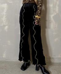 【RE;CIRCLE】 Mellow  Velour  Pants ③ / 201212-005