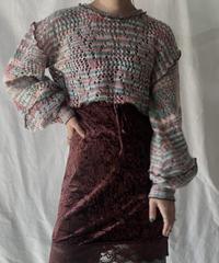 【RE;CIRCLE】 Mellow Knit Sweater ① /210203-038