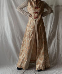 【USED】No Sleeve Poly China Dress/210217-045