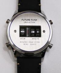 FUTURE FUNK Watch (Circle/Silver)