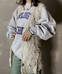 【USED】 Knit Vest ③ / 201120-025