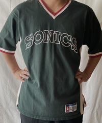 【USED】S/S SHOOTING T-shirt SONICS  /210602-037
