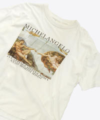 【Used】Art T-shirt Michelangelo (Art4)