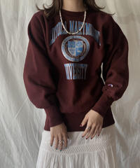 【USED】 90's USA Champion Reverse Weave LOYOLA MARKMOUNT/210324-002