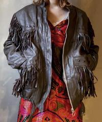 【USED】Leather Jacket 2/ 201104-035