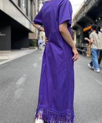 【Used】 Fringe Long Dress