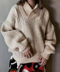 【USED】 Aran Knit ③ / 201125-019