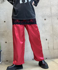 【Used】satin easy Pants  /200911-033