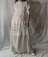 【RE;CIRCLE】  RE Crochet N/S Dress ②/210512-006