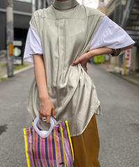 【RE;CIRCLE】N/S Asymmetry Shirt