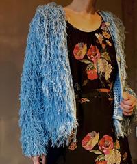 【USED】Shaggy Knit Cardigan / 201104-007