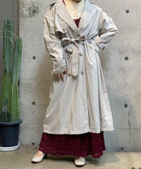【Used】Long Trench Coat /200922-014