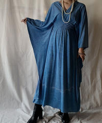 【USED】Velour Cape Style Dress/210203-019