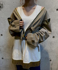 【RE;CIRCLE】L/S  Trench Short Jacket/ 1