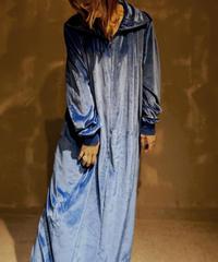 【USED】Velor L/S Dress / 201104-043