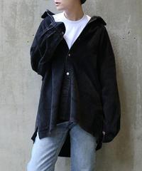 [USED] Corduroy Shirt (Black4)